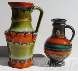 U Keramik West German Pottery