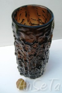 Whitefriars Bark Vase