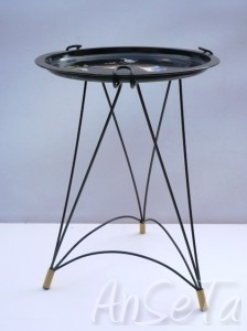 Mid Century French Tripod Tray Table