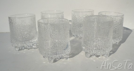 Iittala Ultima Thule Range Shot Glasses