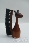 Teak Squirrel Brush