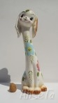 Novelty Long Necked Dog Money Box