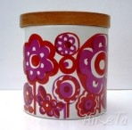 Retro Staffordshire Potteries Storage Jar