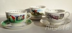 Royal Worcester VIP Cups & Saucers