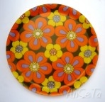 French Flower Power Fibreglass Tray