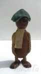 Andy Capp Teak Figure