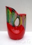Vallauris Double Spouted Vase