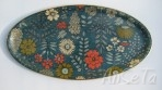 Vintage French Floral Tray