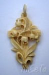 Carved Resin Cruciifix