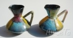U Keramik West German Pottery Jugs