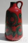 Marei Keramik West German Handled Vase