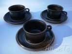 Ruska Expresso Cups & Saucers