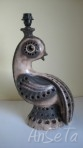 West German Pottery Lamp