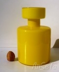 Cased Glass Lidded Bottle
